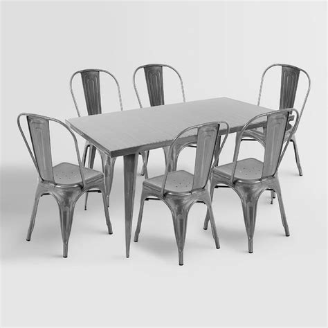 dining room farmhouse table with metal chairs folding sturdy dining room chairs metal farmhouse table 21