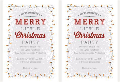 printable holiday invitation templates 21 christmas party invitation templates free psd