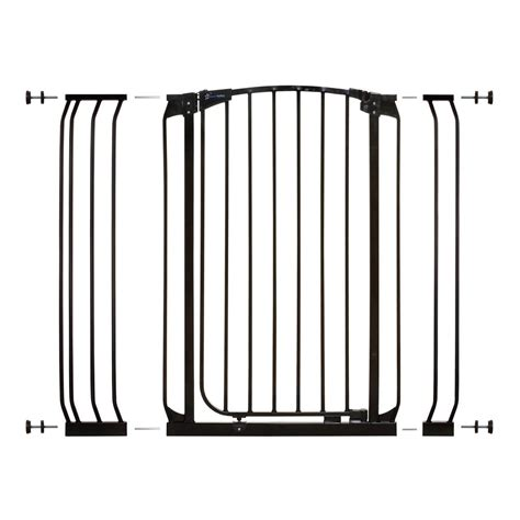 Patio Door Baby Gate Dreambaby Chelsea 40 In H Auto Security Gate In Black With Extensions L782b