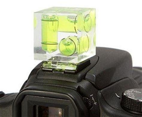 camera hot shoe hotshoe triple 3 axis spirit bubble