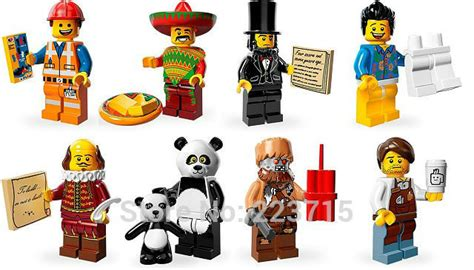 Enlighten 1503a Limited Minifigure series emmet minifigs set diy enlighten block bricks compatible with lego brand in