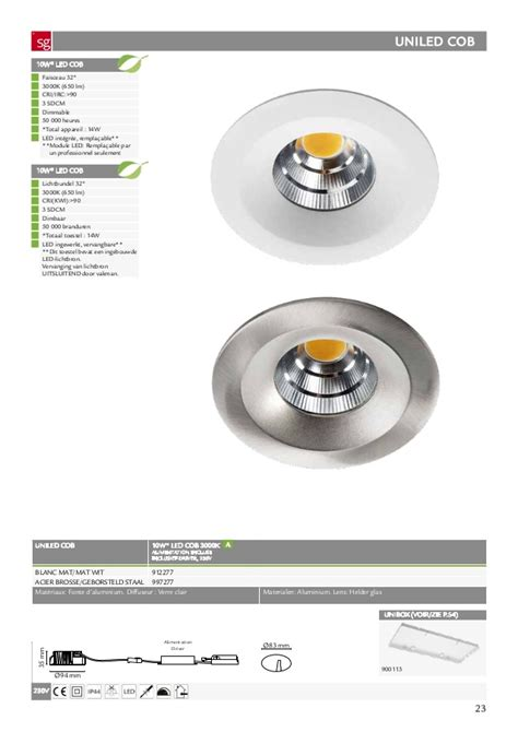 Lu Led Jupiter catalogue des luminaires sg lighting