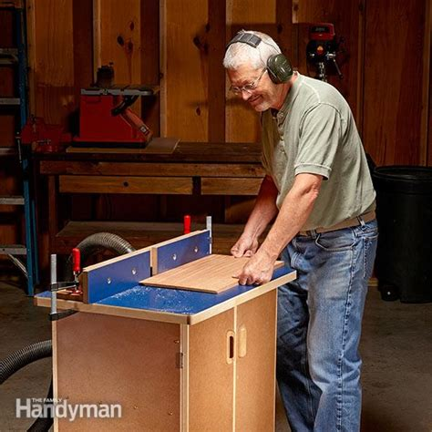 router table plans family handyman