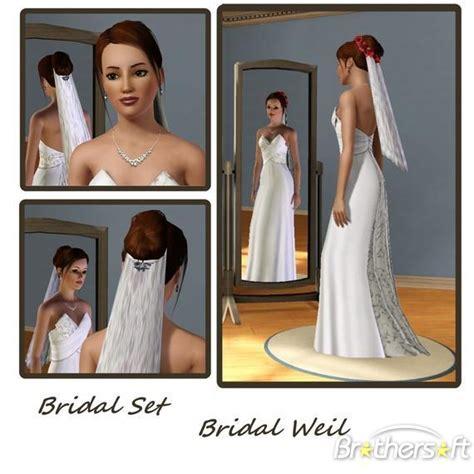 wedding hair the sims 3 sims 3 bridal set french hair formal free download