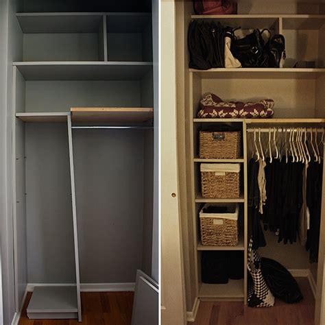 Fix Closet by Diy Closet Fix Up Zeller Interiors