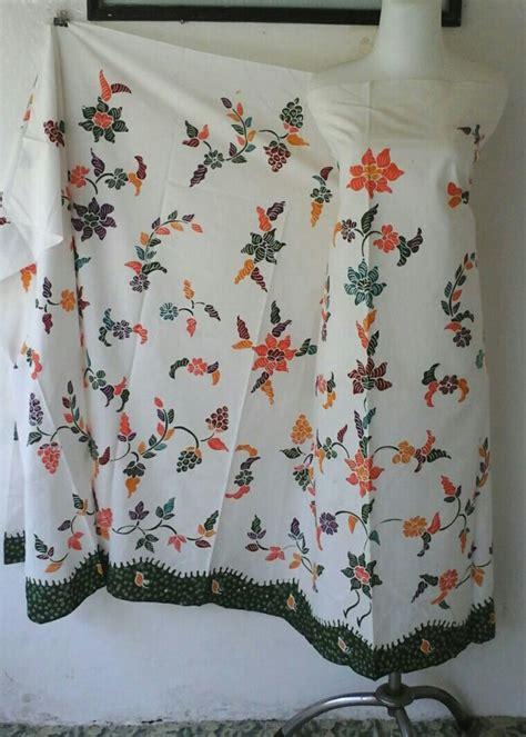 Handuk Ponco Banyak Motif Laki Ready Stock 1 batik warna dasar putih toko batik madura