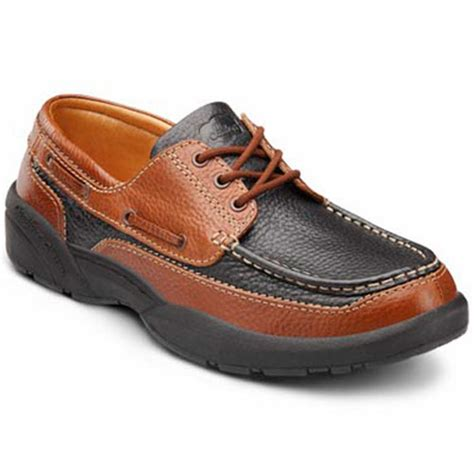 comfort shoes store dr comfort patrick men s therapeutic extra depth boat shoe