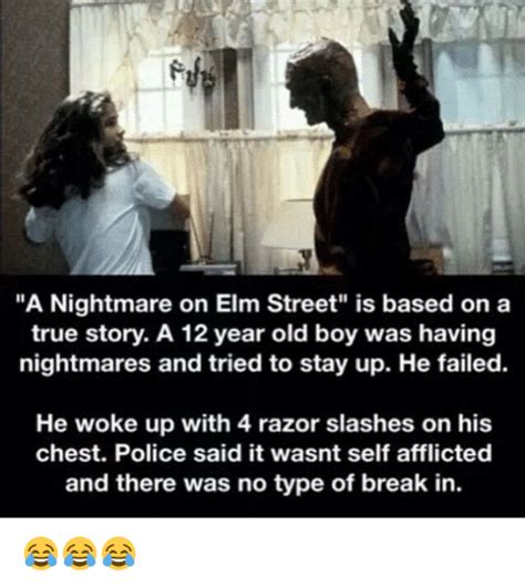 the with no based on a true story books a nightmare on elm is based on a true story a 12