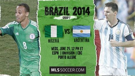 nigeria vs argentina fifa world cup 2014 pictures photos