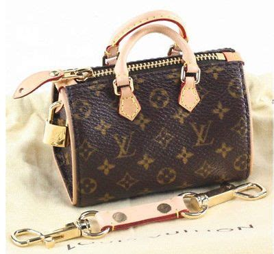 louis vuitton micro mini speedy monogram bag charm