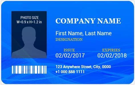 employee id card template beepmunk