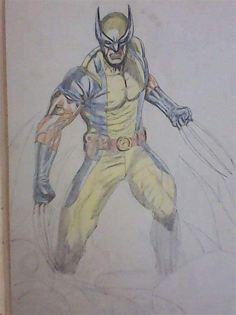 imagenes de el wolverine dibujando a wolverine taringa