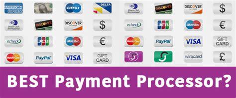 best payment processor for an shop