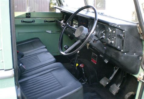 Land Rover Series 3 Interior Images