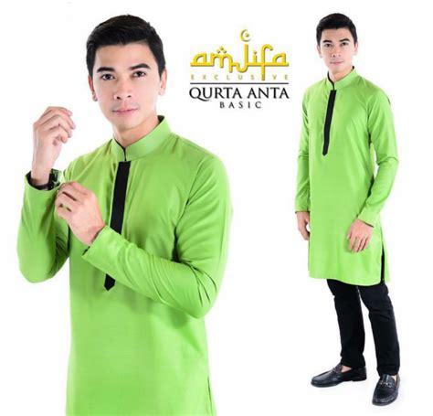 Baju Melayu Warna Hijau Daun Pisang daus redscarz kurta slim fit amjifa exclusive by amarbaharin