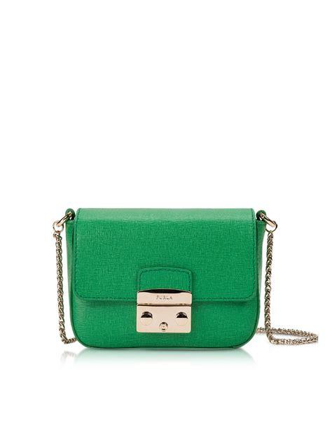 Jullies Metropolis Sling Bag 9206 furla metropolis saffiano leather mini crossbody bag w chain in green lyst