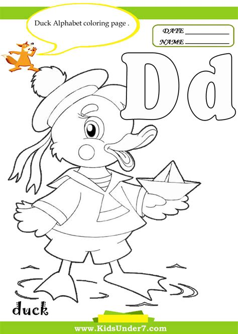 Letter D Worksheets by Free Coloring Pages Of Letter D Worksheet