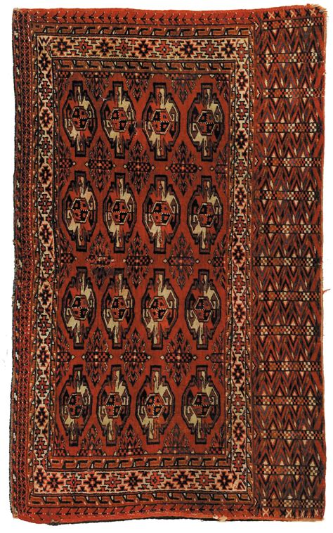 sella genova sella turkmena tekke xix inizio xx secolo tapis