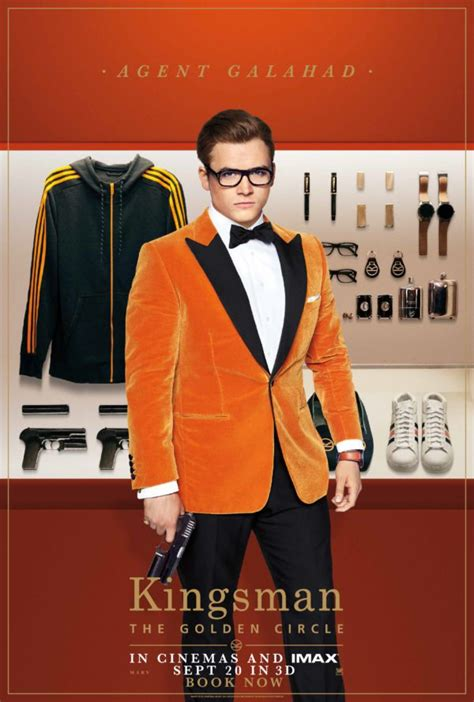 Kingsman 2 The Golden Circle 1 update kingsman the golden circle gets new one sheet and character posters