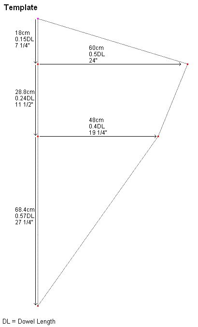 make a diamond kite complete instructions for the mbk