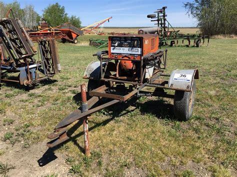 portable lincoln welder lincoln 225 portable welder weaver bros auctions ltd