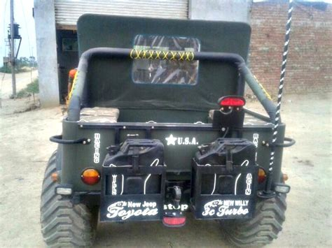 jeep india modified a modified version of willys jeep now converted into a 6x6