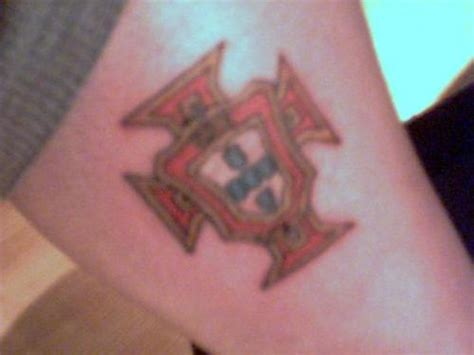 portuguese cross tattoo crest picture at checkoutmyink