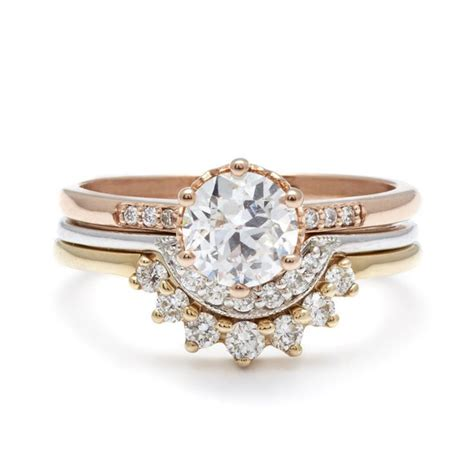 Wedding Rings Styles by Stacked Wedding Ring Styles That Ll Leave You Breathless
