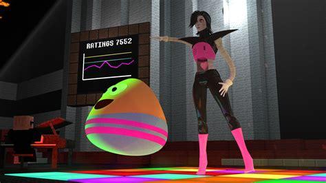 wallpaper game pou mettaton and pou dancing death by glamour 5 by streamer2k