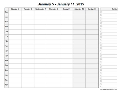 printable calendar time and date printable day calendar with time slots calendar template
