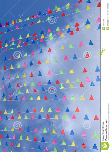 colored flags colored flags royalty free stock image image 13694206