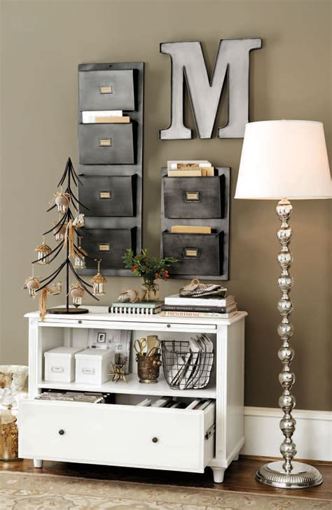 stylish home office christmas decoration ideas and