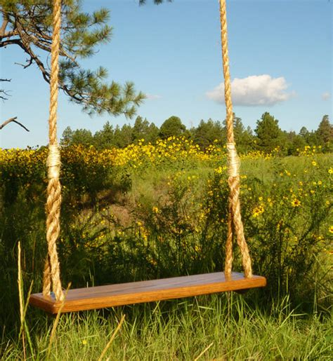 rope swings items similar to wooden rope tree swing handcrafted in