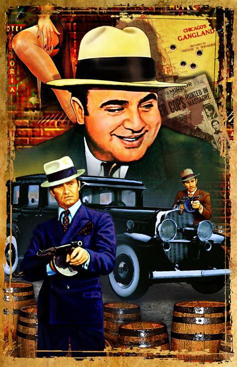 bobble 3 6 mafia al capone gangster war gangsters
