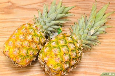 Pineapple Yellow ananas trocknen wikihow
