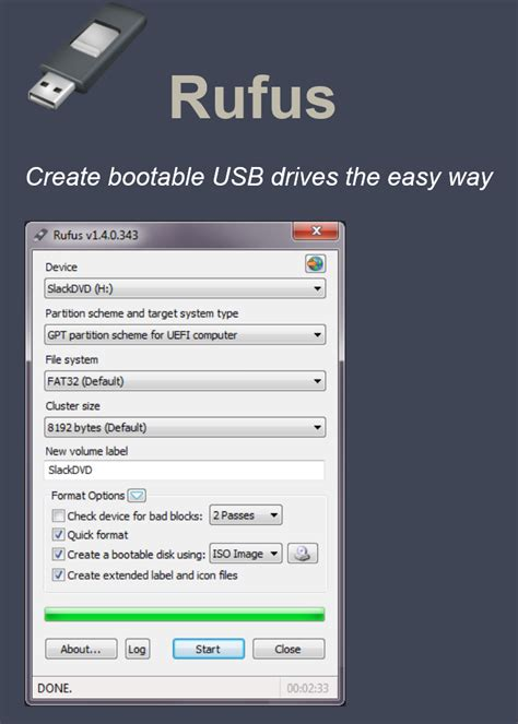 rufus tool tutorial membuat bootable uefi usb installer windows 7 uefi
