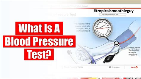 What Is It When Blood Is In Your Stool by What Is A Blood Pressure Test