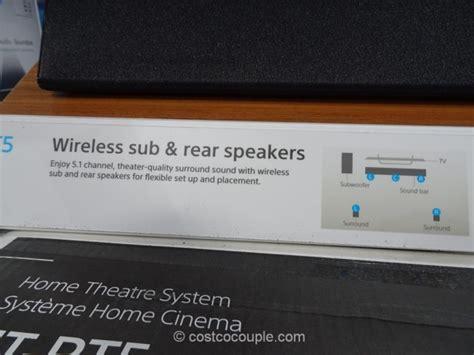 sony soundbar home theater system ht rt