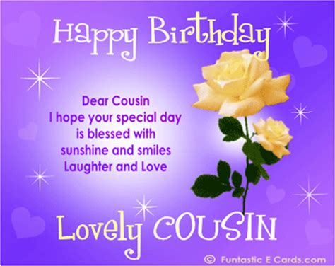 Birthday Quotes For A Cousin Happy Birthday Wishes For Sister Quotes