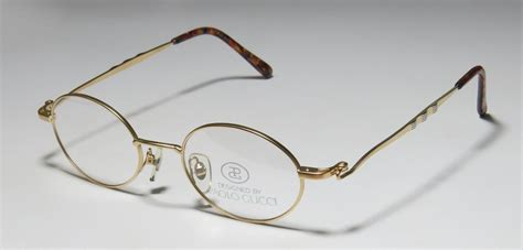 Frame Gucci 8005 Pg new paolo gucci 8101 46 20 140 oval lenses eyeglass frame glasses womens mens ebay