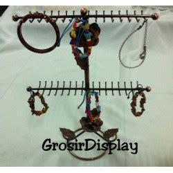 Tempat Gelang Bludru Satuan Berdiri Display Jam Tangan Aksesoris Toko display gelang grosir display