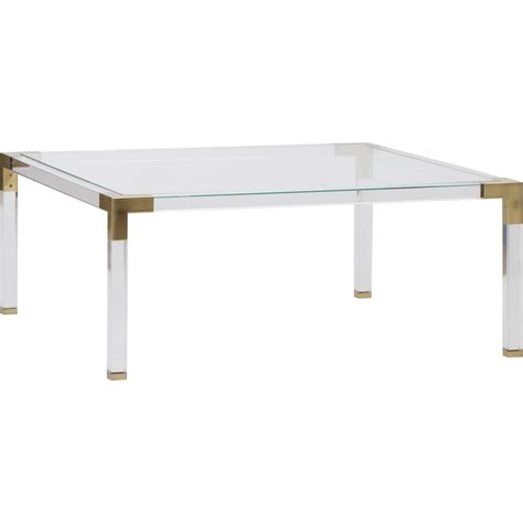 coffee table accents maci acrylic coffee table