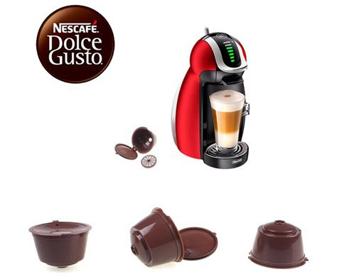 Mesin Coffee Nescafe refillable capsule for nescafe dolce gusto 3pcs coffee