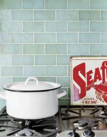 Glass Backsplash Tile For Kitchen Shorely Chic Blue Glass Subway Tile