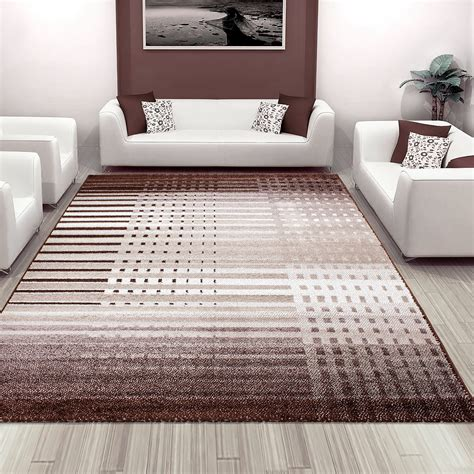 soft area rugs for living room new soft touch home living room stripe lines pattern design large area floor rug ebay