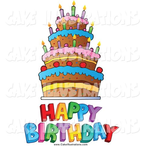 clipart gratis compleanno happy birthday cake clip many interesting cliparts