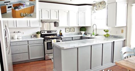 nuvo cabinet paint grey giani white countertop kit with white limestone mineral done in a tight