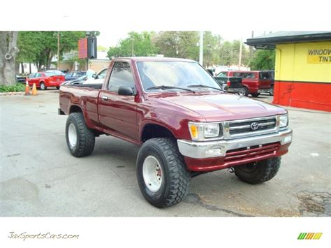 1992 Toyota 4x4 For Sale 1992 Toyota Deluxe Regular Cab 4x4 In Garnet