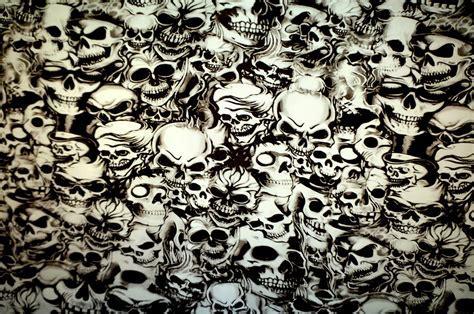 Skulls   Hydrographic Film Prints Showroom