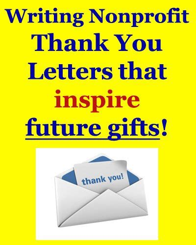 thank you letter team success learn how to write donor thank you letters that inspire